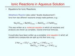 Stoichiometry Problems Worksheet What Is The Net Ionic Equation