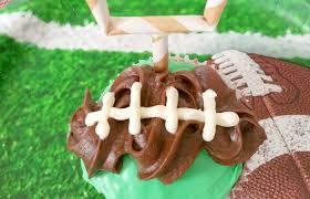 football cupcakes simple football cupcakes