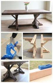 The Feminist Mystique Diy Rustic Wood Coffee Table Farm Table by How To Build A Farmhouse Table Room Woodworking And Woods