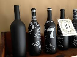 wine bottle guestbook wine bottle table numbers guest book mrs hummel