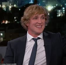jimmy kimmel hair loss youtuber logan paul reveals he lost 15 of testicle daily mail