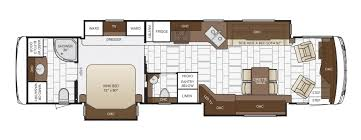Micro Floor Plans by Ventana Floor Plan Options Newmar