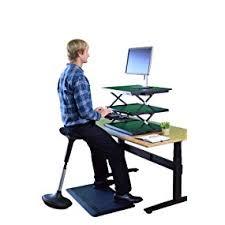Ideal Height For Standing Desk Amazon Com Uncaged Ergonomics Wobble Stool Adjustable Chair