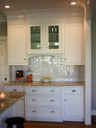 Crown Molding On Top Of Kitchen Cabinets Crown Molding At The Top Of The Upper Kitchen Cabinets To Take Out