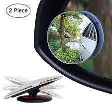 ls plus round mirror car mirrors amazon com