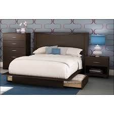 Best Buy Bedroom Furniture by 4 Piece Step One Contemporary Queen Bedroom Set Chocolate