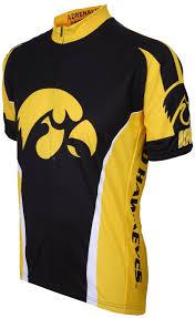 amazon com ncaa iowa hawkeyes cycling jersey biking jerseys