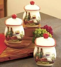 kitchen ceramic canister sets canister sets for kitchen 3 vineyard canister set kitchen