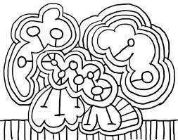 abstract coloring pages kids hard printable mandala colouring