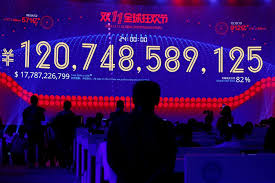 statistic tv show purchased on black friday at target alibaba posts record singles u0027 day sales but growth slows