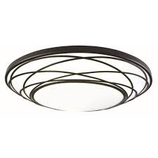 Flush Ceiling Lights For Kitchens Shop Flush Mount Lights At Lowes