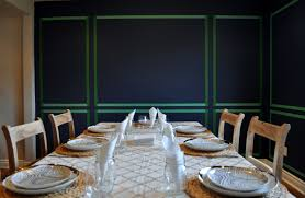 dining room paneling wall paneling mock up u2014 velvet toolbox