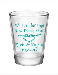 The Knot Favors by Best 25 Wedding Glasses Ideas On Wedding Favours