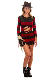 british halloween costumes miss krueger costume nightmare on elm street horror fancy
