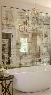 i really like this mirrored wall could enlarge a small space
