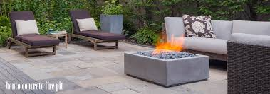 Concrete Fire Pit by Bento Concrete Fire Pit Denver Co Creative Living