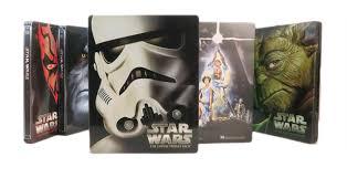 Star Wars Blu Ray Steelbook Set Review Back To Beautiful Basics