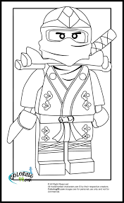ninja lego coloring pages funycoloring