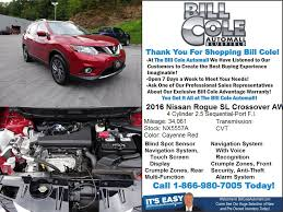 nissan rogue under 5000 used one owner 2016 nissan rogue sl bluefield wv near marion va