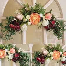 flowers store near me aliexpress buy wreaths artificial flower garland wall