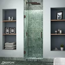 30 Shower Door Shop Dreamline Unidoor 30 In To 30 In W Frameless Rubbed