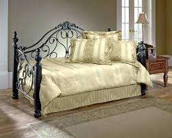 black wrought iron daybed love the white and greens and the
