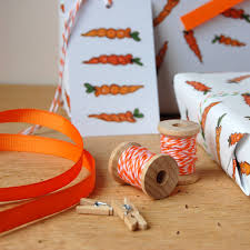 eco friendly wrapping paper carrot wrapping paper set gift wrap eco friendly
