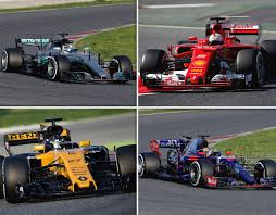 f1 cars f1 2017 cars ranked and which livery is the best