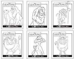 lion king 2 coloring free download