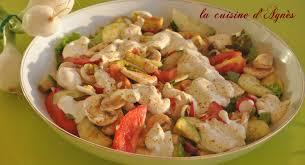 recette de cuisine d été salade d été au fromage blanc la cuisine d agnèsla cuisine d agnès