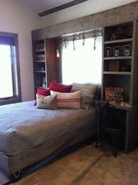 Headboards With Built In Lights Love The Built In Headboards Shelves Bedside Tables Design Ideas