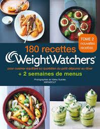 2 recettes de cuisine amazon fr 180 recettes weight watchers tome 2 pour cuisiner