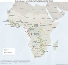 Liberia Africa Map by Sub Saharan Africa Natural Resource Deposits Geopolitical Futures