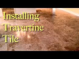 Installing Travertine Tile Installing Beautiful 18x18 Travertine Tile Offset Brick Pattern