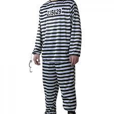 Halloween Inmate Costume Size Men U0027s Prisoner Costume Halloween Costume Ideas 2016