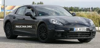 Porsche Panamera Next Gen - spyshots next gen porsche panamera spotted