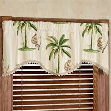 Curtains With Trees On Them Window Valances Touch Of Class