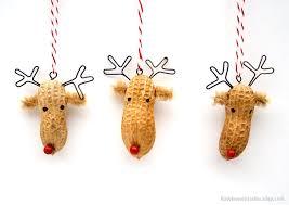 awesome etsy find peanut ornaments by bone studio