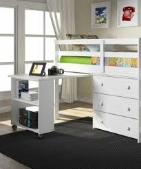 Desk With Bed Small Desk With Wheels Foter