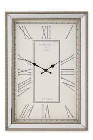 Large Mirrored Wall Clock Buy Beaded Mirror Wall Clock From The Next Uk Online Shop Large