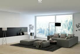 Wohnzimmer Grau Gemütliche Innenarchitektur Wohnzimmer Gestalten Grau Weiss