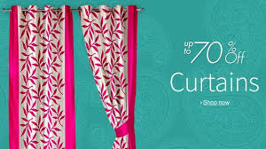 Curtains Online Shopping Buy Amazon India Offering Upto 70 Discount On The Curtains Online