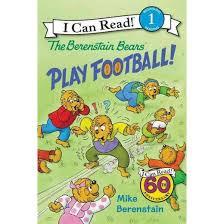 berestein bears berenstain bears play football school and library mike