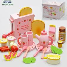 cuisine de jeu nouvelle arrivée fraise grille bébé jeunes enfants en bois