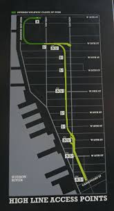 High Line New York Map by The High Line Nyc Worth A Visit Eatandtravelwithus