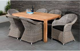 6 seater patio furniture set 6 seater dining set teak table home furniture out u0026 out