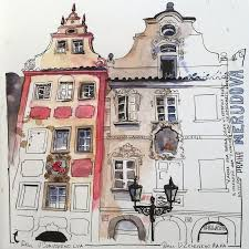 3826 best beautiful urban sketches images on pinterest drawings