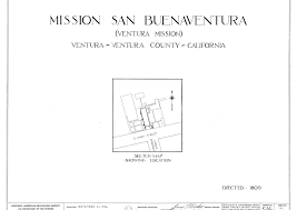 mission san jose floor plan mission san buenaventura floor plan spanish missions in