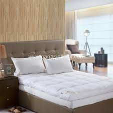 luxury feather mattress topper high star hotel choice china