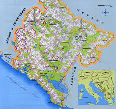 Topographical Map Of Europe by Maps Of Montenegro Map Library Maps Of The World